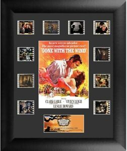 Gone With the Wind Film Cell Authentic 35mm Movie Montage Framed Brand New S1