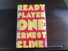 READY PLAYER ONE, Ernest Cline, 1st/1st print 2011 HCDJ