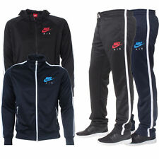 Mens Nike Air Limitless Red Black Tracksuit Hoodie Bottoms Joggers Trouser Pants
