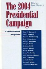 The 2004 Presidential Campaign: A Communication Perspective-ExLibrary