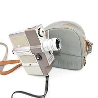 Yashica Yashimat Zoom Cine Film Camera with Yashinon 9-27mm f/1.8 Lens c.1968