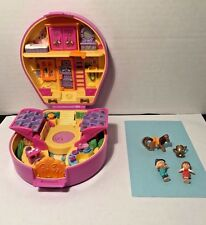 Polly Pocket Pony Ridin' Show Compact 1994 Bluebird Vintage Figures Accessories