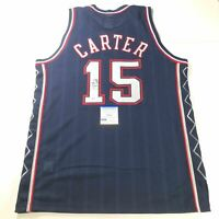 Vince Carter signed jersey PSA/DNA New Jersey Nets Autographed