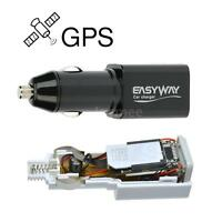 Real Time GPS Tracker GSM GPRS Tracking Device Car Charger with USB Port W2S0