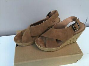 UGG Wedge Sandals - Size 7.5(40) - Thames  Hospice