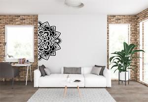 Mandala Edge Wall Art Decal Sticker FL31
