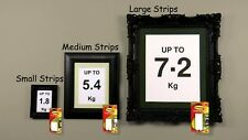 4-64 Stripes of 3M Command Picture Hanging Strips SMALL MEDIUM LARGE - Bulk Buy