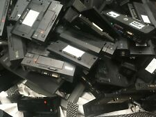 Joblot of 5 Docking Stations, mixed, Random pick, from dell, hp, Toshiba, etc