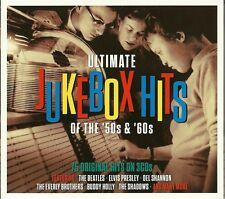ULTIMATE JUKEBOX HITS OF THE '50s & '60s - 3 CD BOX SET - DEL SHANNON & MORE