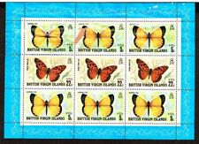 British Virgin Islands / 1978 Butterflies minisheet   BVI-617