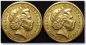 Double Sided Australian 2 Dollar Coin -  Same Side Australian Coin Magic Trick
