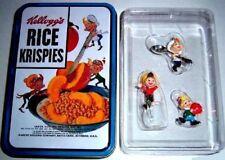 Ornaments Rice Krispies Kellog's Cereal Tree Xmas Holiday Gift Kelloggs Rare Tin