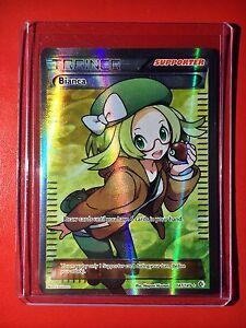 Pokemon card -Full Art Bianca B&W Trainer Boundaries Crossed Set 147/149 M EX XY