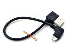 New Universal Short Right Angle L 90 Degree Micro B USB Data Charging Cable