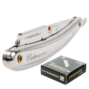 PARKER 31R Stainless Steel Shavette RAZOR   Cut Throat SR1