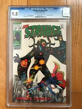Doctor Strange #180 CGC 9.8 Off White to White Pages Eternity appearance