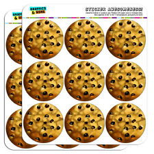 """Chocolate Chip Cookie 2"""" Scrapbooking Crafting Stickers"""