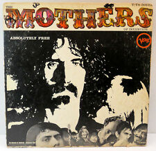The Mothers Of Invention Absolutely Free V/VG-5013 Verve Frank Zappa