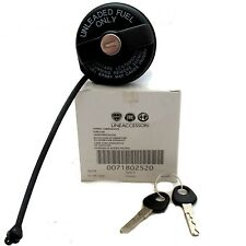 Genuine Fiat PETROL CAP LOCKABLE FUEL FILLER CAP TANK WITH KEY 71802520