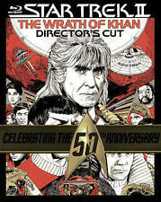 Star Trek II: The Wrath of Khan (Blu-ray  Directors Cut) brand new W/SLIPCOVER