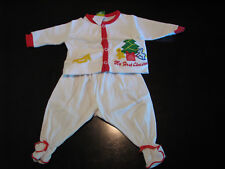 Vintage Baby - My First Christmas - Frog Pond Kids Inc. 1984 Tadpoles 2pc Outfit