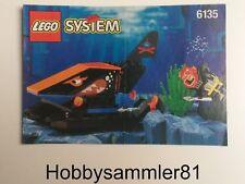 Lego® 6135 System Aquazone Bauanleitung Aquasharks: Spy Shark