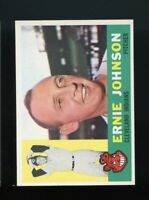 1960 Topps BB Card #228 Ernie Johnson Cleveland Indians (b) NM-MT OR BETTER