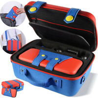 Travel Hard Shell Storage Bag Carry Case Set for Nintendo Switch NS Accessories
