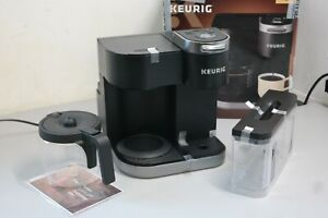 Keurig K-Duo 12-Cup Coffee Maker and Single Serve K-Cup Brewer Black (14A) READ
