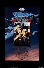 TOP GUN (1986) ORIGINAL MOVIE POSTER  -  ROLLED