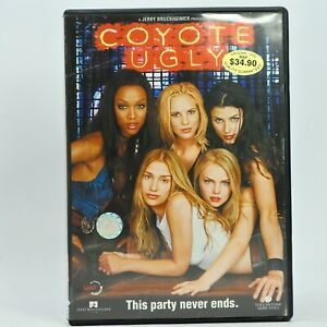 Coyote Ugly Piper Perabo Tyra Banks DVD R3 Good Condition Free Tracked Post