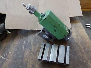 Boxford AUD, BUD, CUD lathe vertical slide + T slot plate & vice