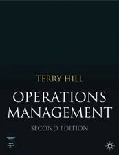 New, Operations Management, Terry Hill, Book