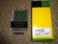 John Deere Elite Floor Mat Set 001478R01