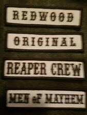 SONS OF ANARCHY Redwood original reaper crew men of mayhem patch