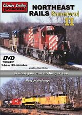 NORTHEAST RAILS REMEMBERED VOL 2 CHARLES SMILEY NEW DVD SOO, D&H, CP RAIL + MORE