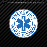 EMT Emergency Medical Technician Sticker Self Adhesive Vinyl star of life #2