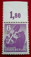 Germany:1945 The Berlin Bear 6 Pfg. Rare & Collectible Stamp.