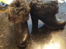 Smart Black, Ankle Boots, Size 7