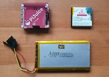 PiJuice HAT + 12000mAh Battery + 1820mAh Battery for Raspberry Pi