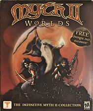 Myth II 2 Worlds Pc Mac Brand New Sealed Retail Box Free US Ship Win10 8 7 XP