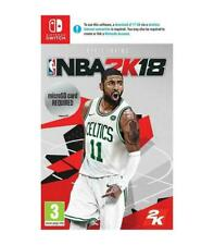 NBA 2K18 (Nintendo Switch, 2018)
