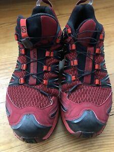 Salomon XA Pro 3D Herren Schuhe Rot / Größe 48