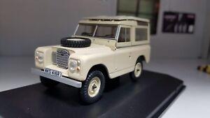 1:43 Maquette Land Rover Séries 2a 3 Break Swb Calcaire Oxford Neuf en Boîte