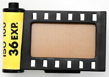 Unique 1984 Hand Painted Porcelain 35mm Film Canister Design Photo Frame