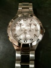 Guess Steel Chronograph 5 ATM Men's Watch I90199G1