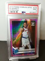 2019 RJ BARRETT Optic Pink Hyper Prizm #178 Knicks RC Rookie PSA 9
