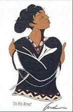 """African American Black Art """"IN HIS ARMS"""" a Woven Tapestry by Andre Thompson"""