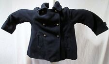 Zara Kids Navy Pea Coat size 4-5 Years EUC