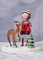 Winter Wonderland Lori Mitchell Christmas Figurine NEW DESIGN